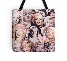 Marilyn Monroe Collage Tote Bag