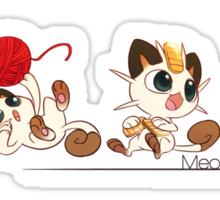 Meowline Sticker