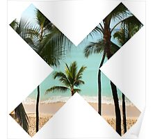 Beach X  Poster