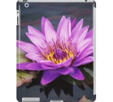 Purple Lilly iPad Case/Skin