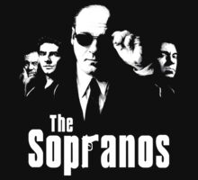 The Sopranos with title by evaparaiso