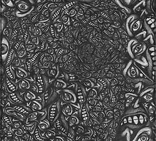 Facepage 04 - Psychedelic faces  by FreemanDan-com