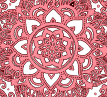 Mandala Design Sticker