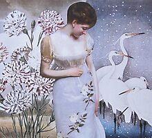 Egrets by Kanchan Mahon