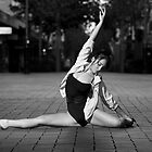 Street Ballerina 15 by Nigel Donald