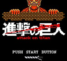 Classic 8-bit Titan game by epyongart