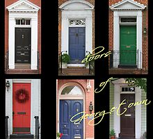 Doors of Georgetown by papierGrace