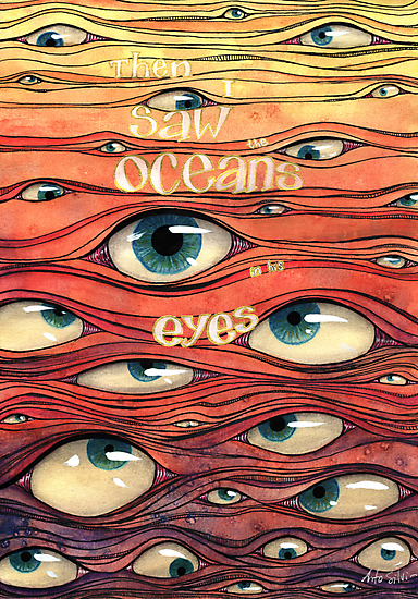 Oceans of Eyes by Antonella Silvi