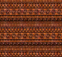 aztec pattern by imsu