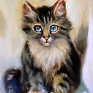 cat 9 after Henriette Ronner-knip by Hidemi Tada