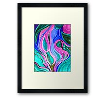 Conscious Uncoupling Framed Print