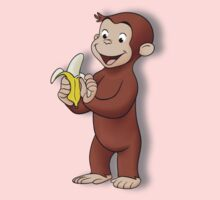 Curious George by stixcreatur