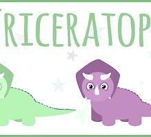 Baby Triceratops by babydesigns