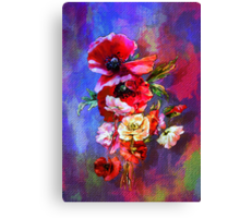 Poppies. Canvas Print