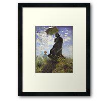 Vader with a Parasol Framed Print