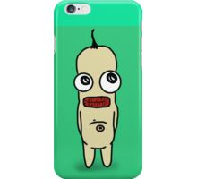 Norbert The Minion: green-blue iPhone Case/Skin