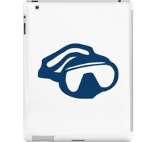Diving goggles glasses iPad Case/Skin