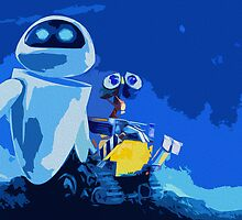 WALL-E Print by pyjamaszoidpics
