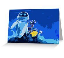 WALL-E Print Greeting Card