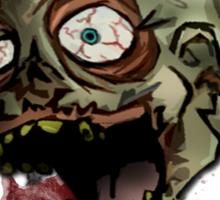 Zombie Head Sticker