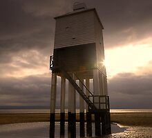 Burnham on sea lighthouse 2 by Simon West