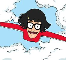 Tina Flying - Quickie Kiss It Island - Bob's Burgers by LukeSimms
