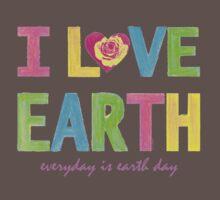 I Love Earth Kids Clothes