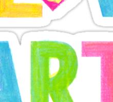 I Love Earth Sticker