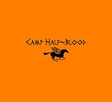camp half blood logo iphone case  by kiara fulk