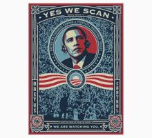 Yes We Scan Obama Spoof on Election - Big Brother by 8675309