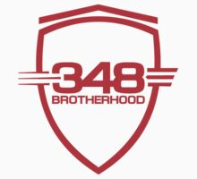 Ferrari 348 Brotherhood / Red / Large Shield by Ferraridude