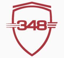 Ferrari 348 / Red / Small Shield by Ferraridude
