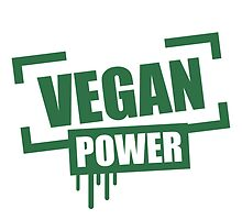 Vegan Power Stempel Logo by Style-O-Mat