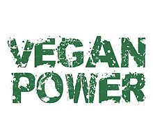Vegan Power Logo by Style-O-Mat