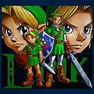 Link - Ocarina Of Time by 666hughes