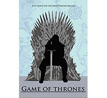 Game of Thrones minimalist work Photographic Print