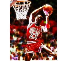 Magical Michael Jordan Photographic Print