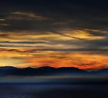 Leaving Vancouver Island by Gail Bridger