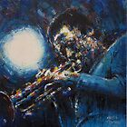 Miles Davis II by Franko Camue