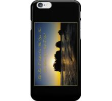 james island, wa & reflection iPhone Case/Skin