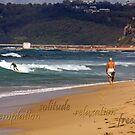 Seaside Stroll by reflector