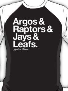 Loyal to Toronto (White Print) T-Shirt