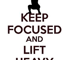Stay focused gym message by dno123
