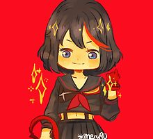 kill la kill - matoi ryuuko sticker  by meru90