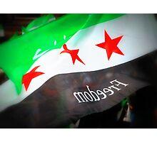 Syrian Flag Photographic Print