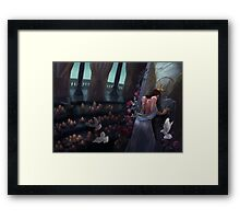 Kushiels Dart Phedre at the Temple of the Angel of Punishment Framed Print