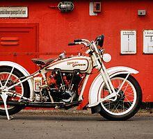 Harley-Davidson JD 1927 by Frank Kletschkus