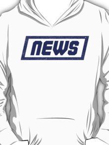 News Blue - Fontline T-Shirt