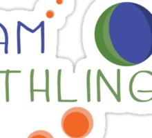 Original Team Earthling - Small Sticker
