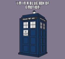 I'm in a Blue Box of Emotion by xSammyx